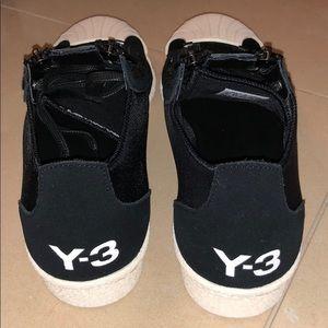 9e74ed5d4c68d Y-3 Shoes - Y3 Black  Super Zip  lace-up sneakers